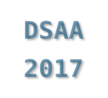Article presented at DSAA 2017